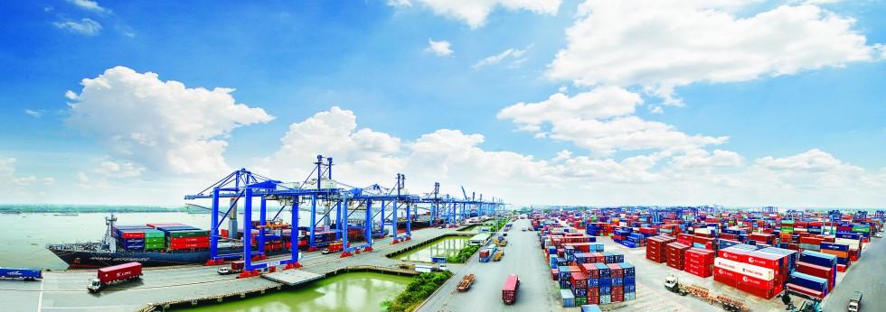 Các bến cảng quận 7